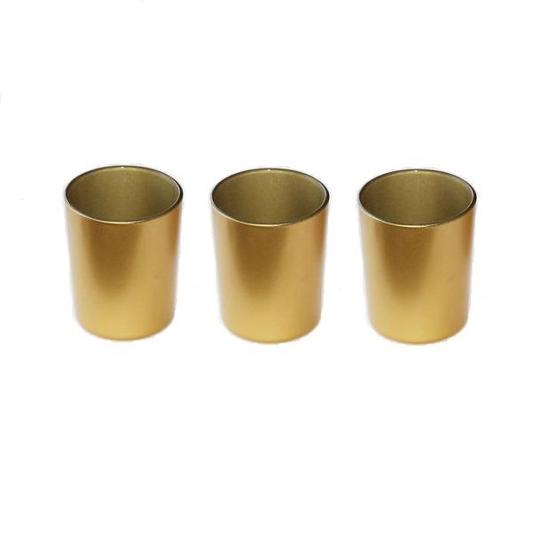 Gold tealight votives