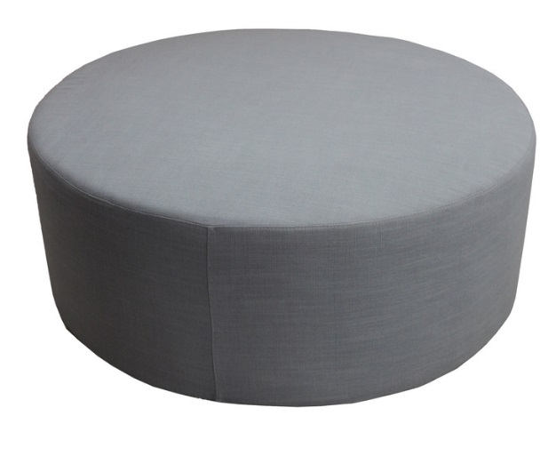 Extra Large Round Ottoman $100