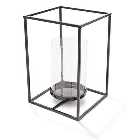 Black Frame Lantern $10