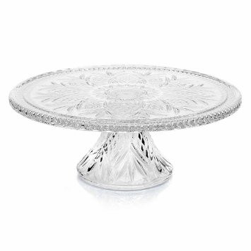 Crystal Cake Stand $8