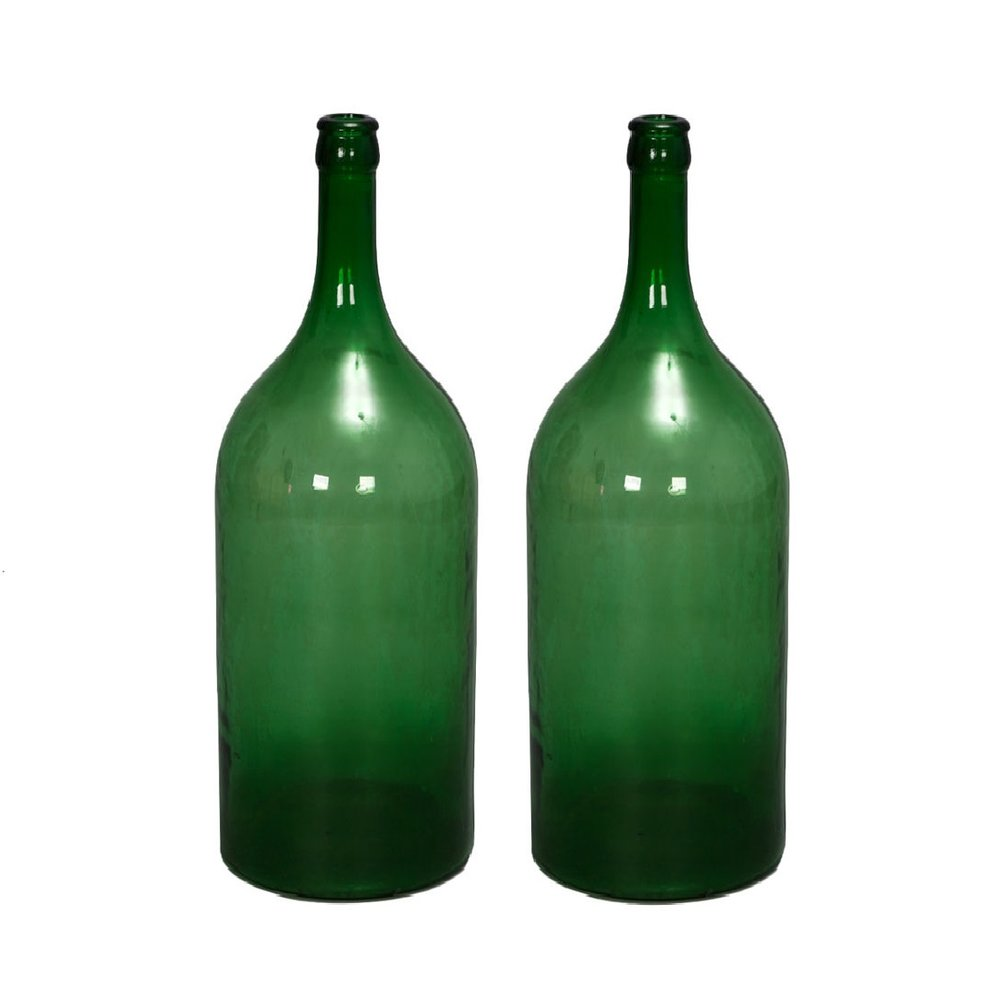 Extra Large Green Bottles $10