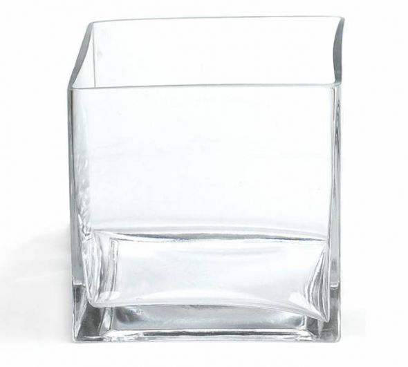 Assorted sizes Rectangular Vases $10