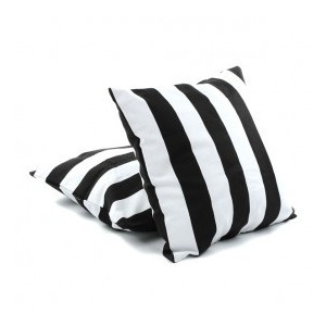 Black and White Cushions $4