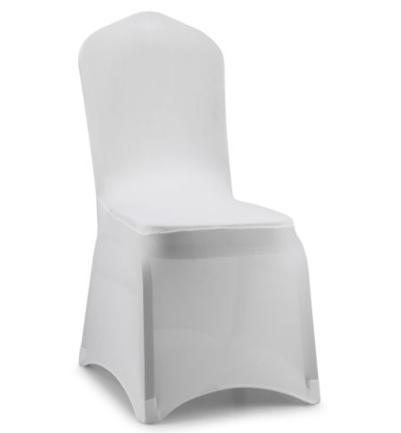 White Lycra Chair Covers $2.50