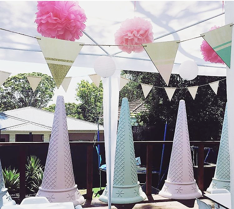 Giant 2mt Ice Cream Cones $60