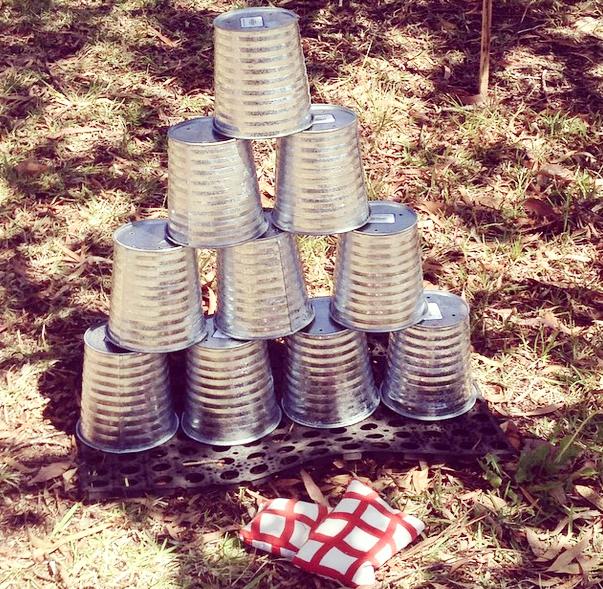 Tin Buckets $4