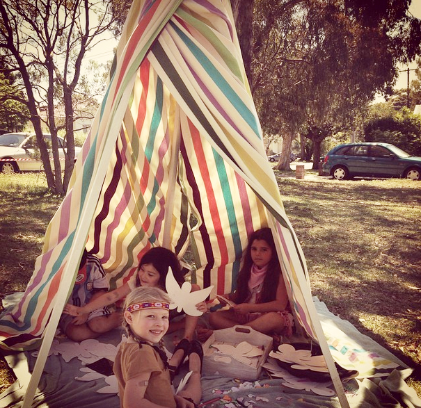 Colourful Tee Pee $120