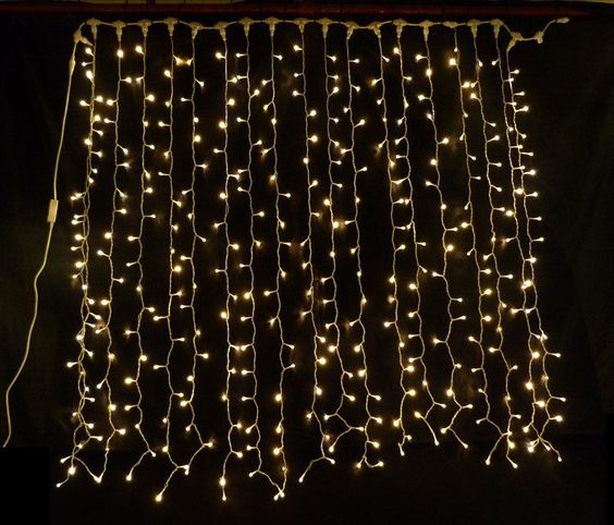 Fairy Light Curtain $70