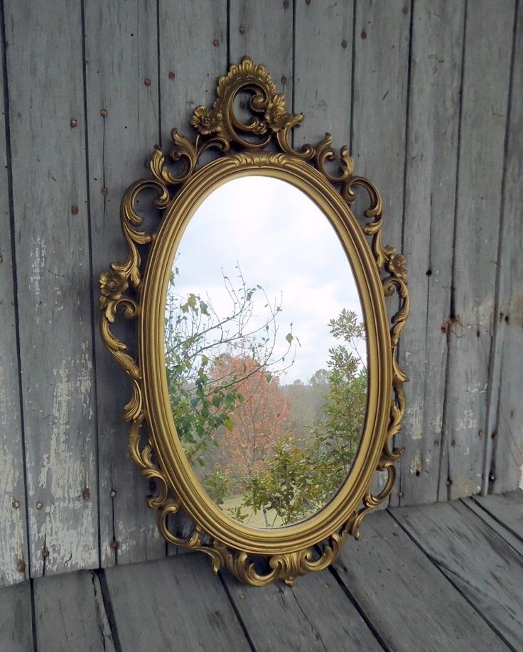 Gold Mirror $50