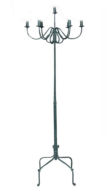 Wrought Iron Candle Stand $30