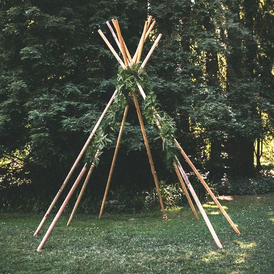 Tee Pee Style Arch $300