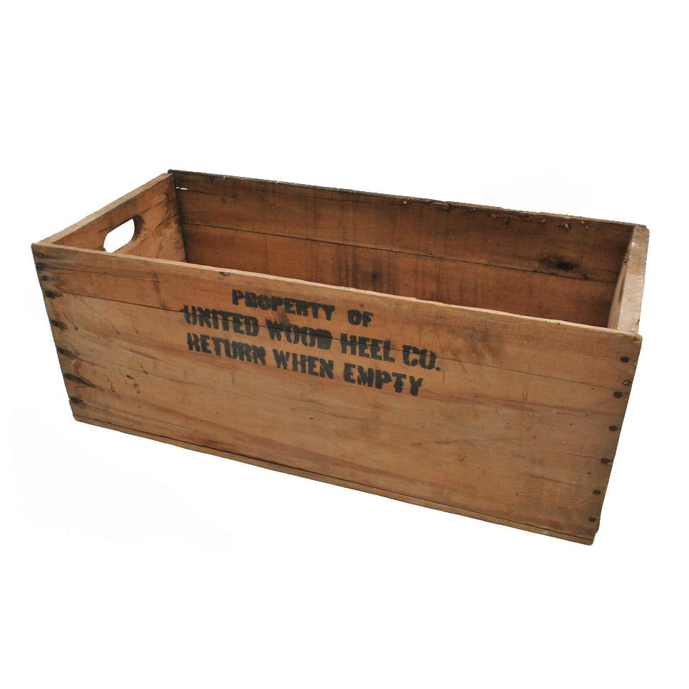 Wooden Crates $8