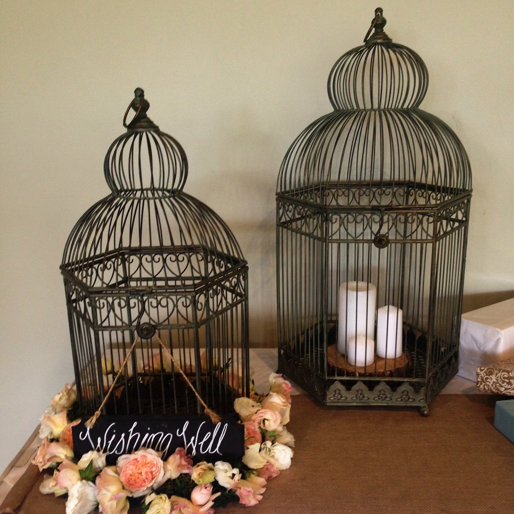 Large Rustic Birdcages $40