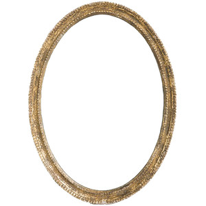Gold Mirror Oval $30