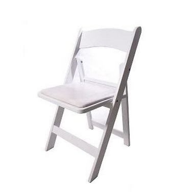 White Folding Chairs $7