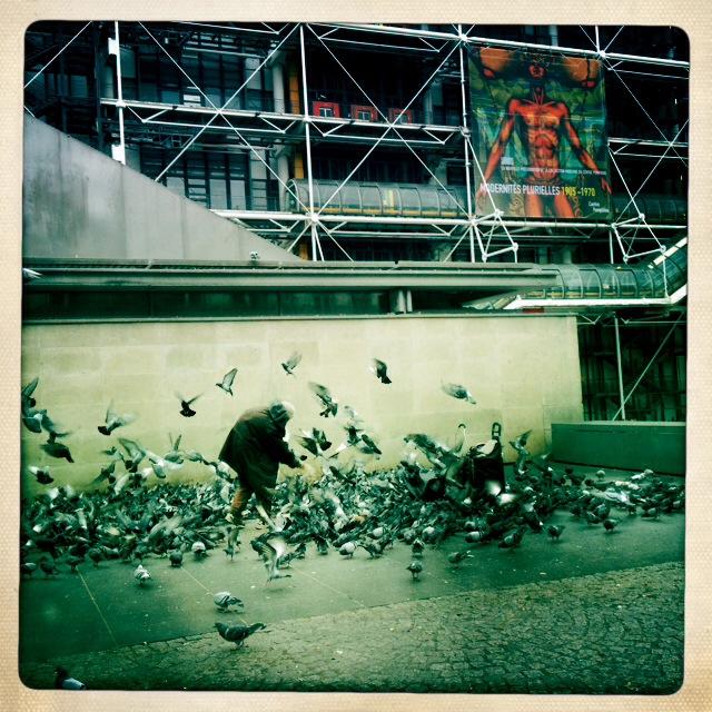 3. Τα πουλιά πεθαίνουν τραγουδώντας. Και τρώγοντας. Η συγκεκριμένη σκηνή απαθανατίστηκε παραμονή Πρωτοχρονιάς και για κάποιο λόγο κόλλησα, και έβγαλα μια σειρά από φωτογραφίες.