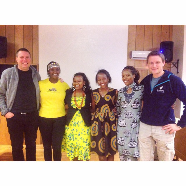 Today these wonderful Kenyans had their morning assembly☺️ Asante sana warembo!💛 #cfc1415 #sunnmorefhs