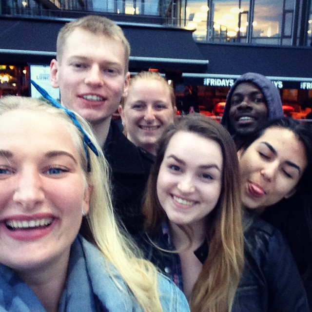 A mini #CFC1314 reunion in Oslo!🙌🏼 Happy to have George back in Norway! We hope it is not going to be long until you are back here again! #onceacfceralwaysacfcer 💙