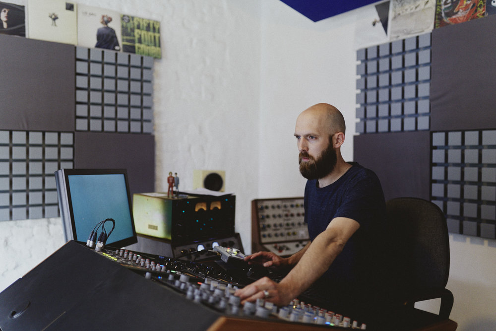Jerboa Mastering - Frederik Dejongh ©Mathias Lambrecht