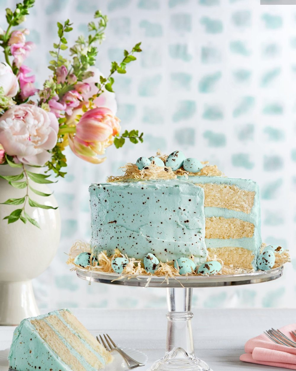 - This is on my spring baking list and looking at it just makes me happy. I'm a coconut girl so this has my name all over it!Find the recipe here.