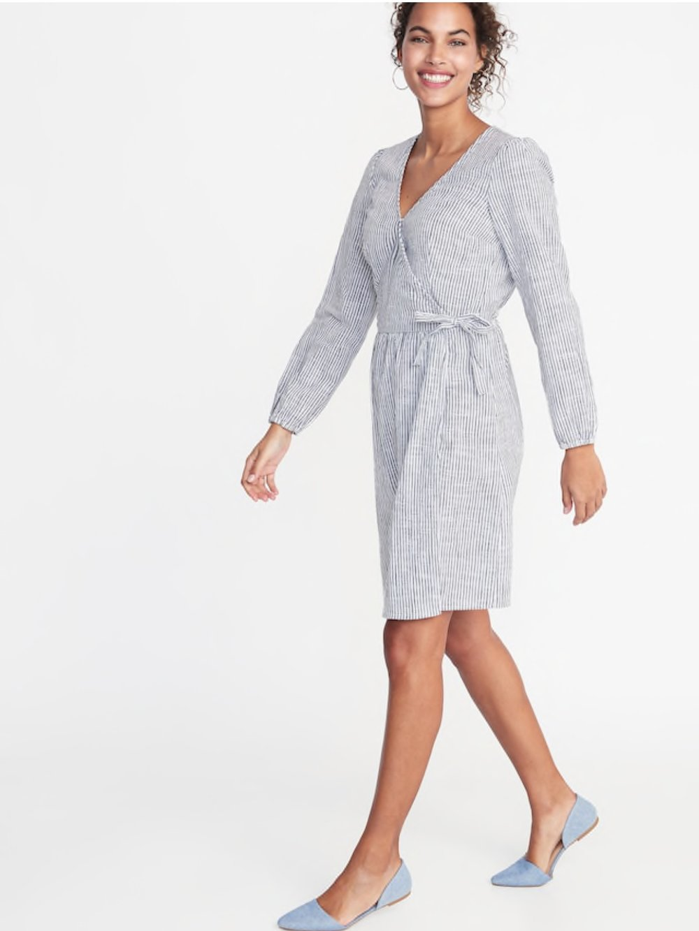 - Would it be a Friday Favorites without something from Old Navy? I don't think so. I picked up this dress this week and it's so flattering (hello mom bod) and so soft. A winner all the way!Find it here.