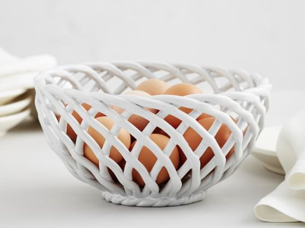 - This bowl is one sale today for under $25 and I just love the design of it. Would make a great host gift for Easter!Find it here.
