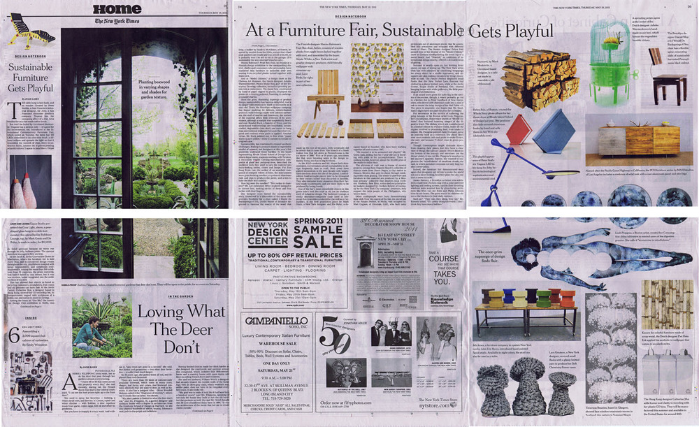 THE NEW YORK TIMES   thursday 19 may 2011