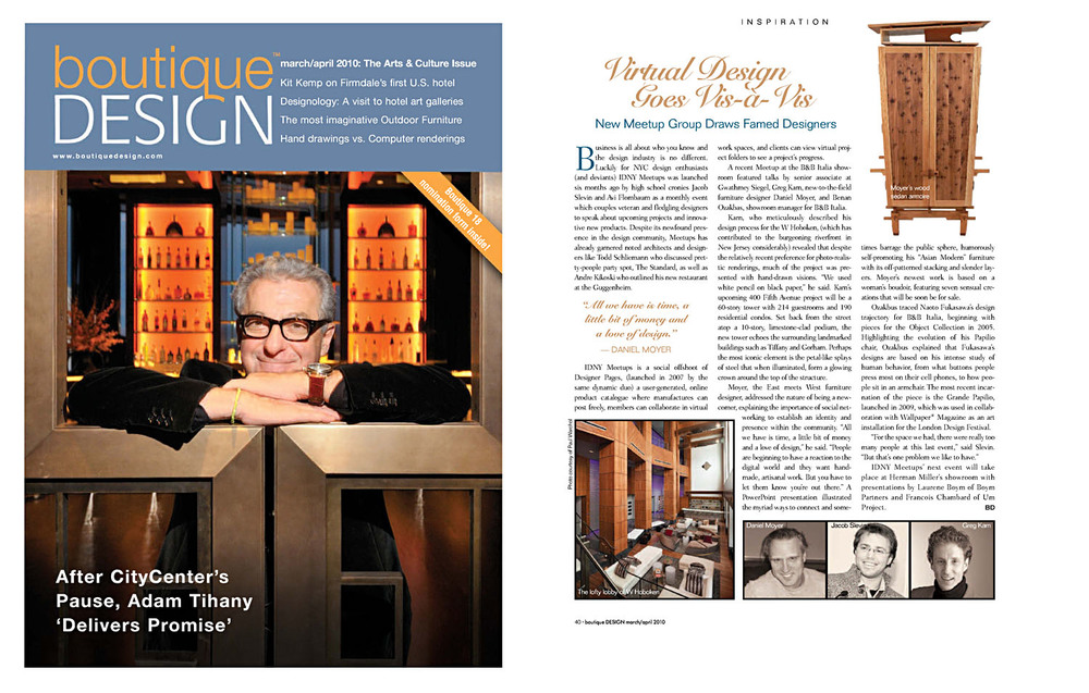 boutique DESIGN   march/april 2010