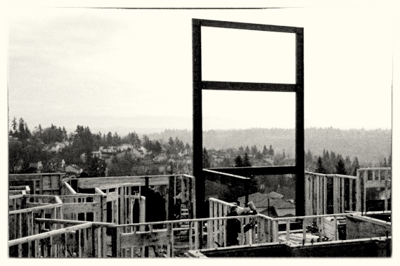 Giant Steel Moment Frame - West Linn