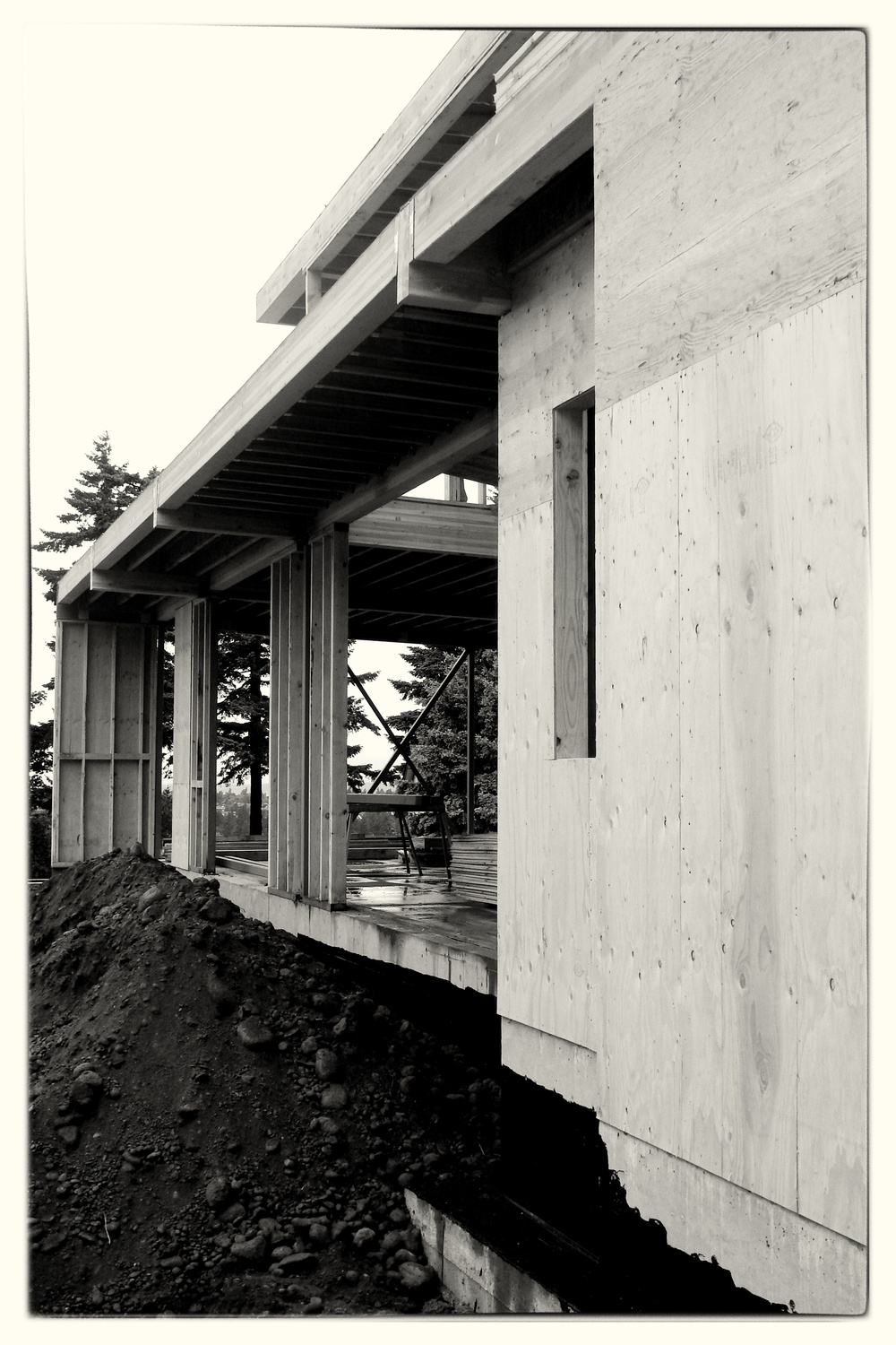 Contemporary Home Framing - Portland