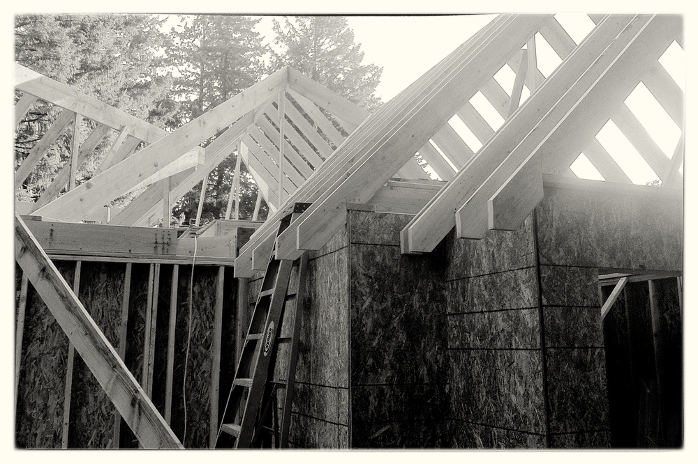 Framing a Craftsman Style Home - Lake Oswego