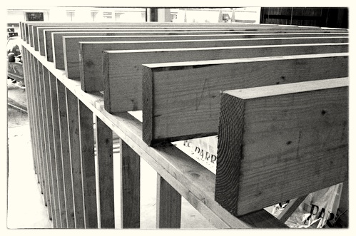 Framing Floor Joists in Commercial Building - Portland