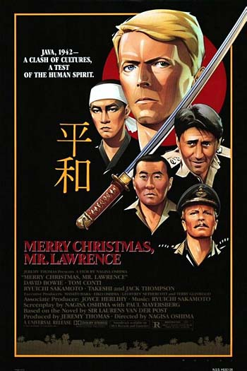 "Movie poster of ""Merry Christmas Mr. Lawrence"""