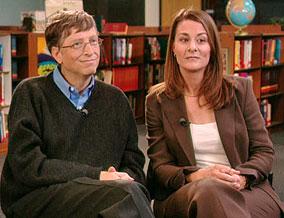 Bill & Melinda Gates (C) Oprah's Website.