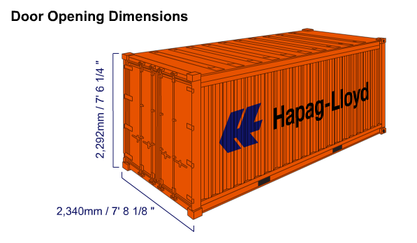20-Foot Standard Container