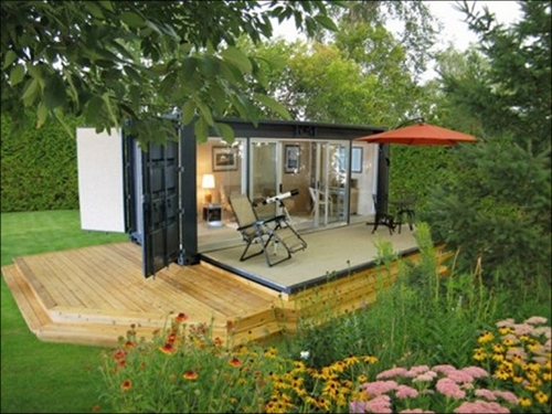 Shipping Container Home / Habitat / Architecture
