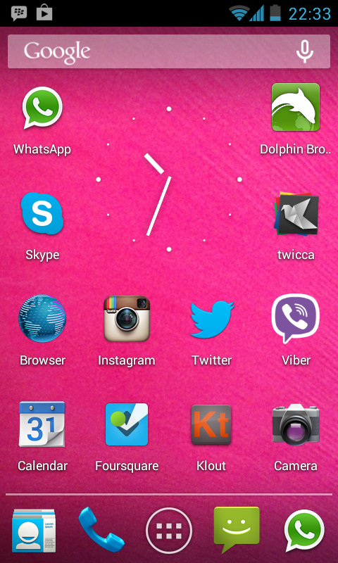 Mobile Phone Screenshot 5