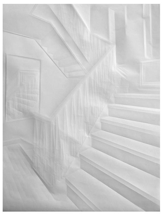 Simon Schubert Art from Paper Folding Creases