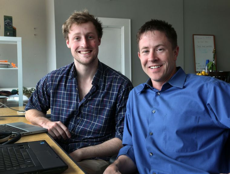 Knox Payment Co-Founder & President Tommy Nicholas (Left) and Thomas Eide, CEO of Knox Payments (Right)