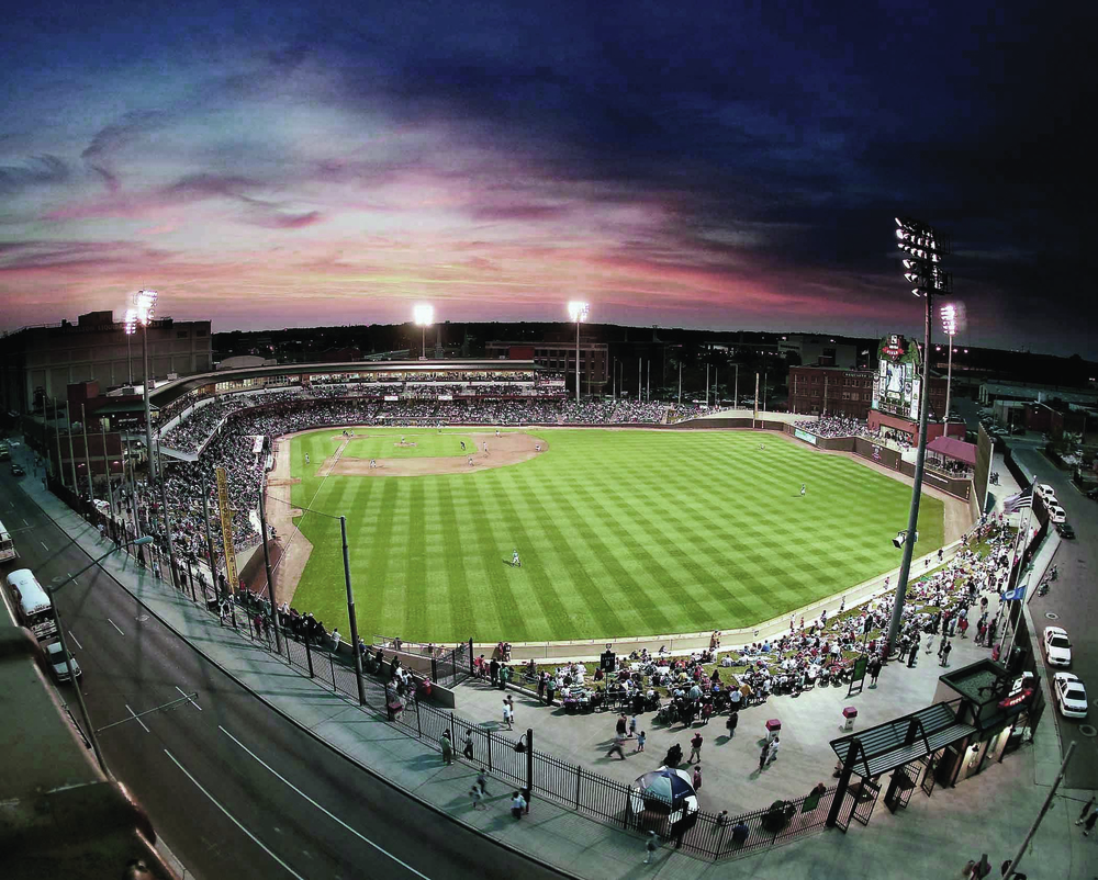 Photo contributed by the Dayton Dragons