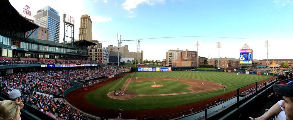 2015 Best Ballpark Renovation Autozone Park