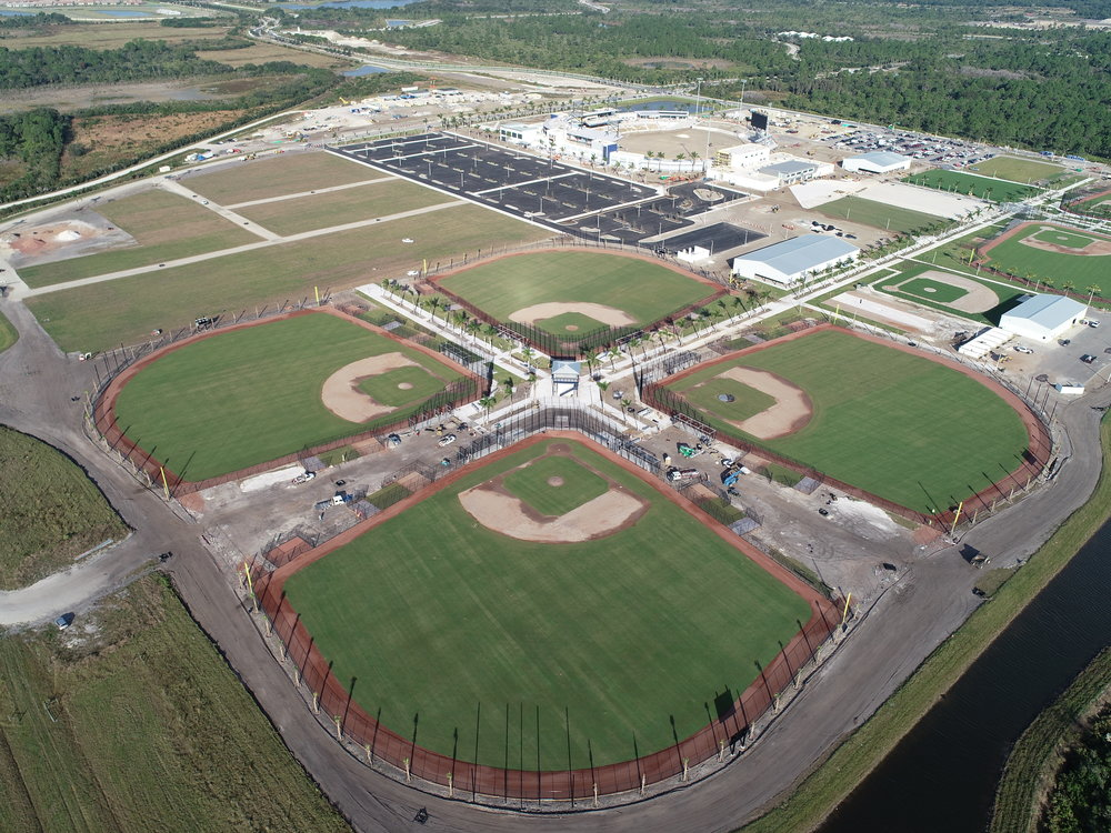 """""""It's a beautiful complex… - What we've done in 14 months is pretty incredible.— Chip Moore, Braves' Executive Vice President of Minor League and Florida Operations"""