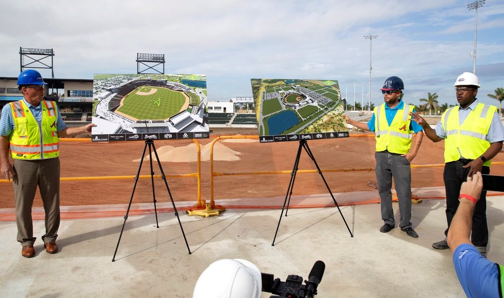 """""""People are going to love it… - I don't think you'll find a spring-training facility comparable. This is going to feel like the Braves and also feel like North Port.""""— Jonathan Cole, Pendulum Principal/Owner"""