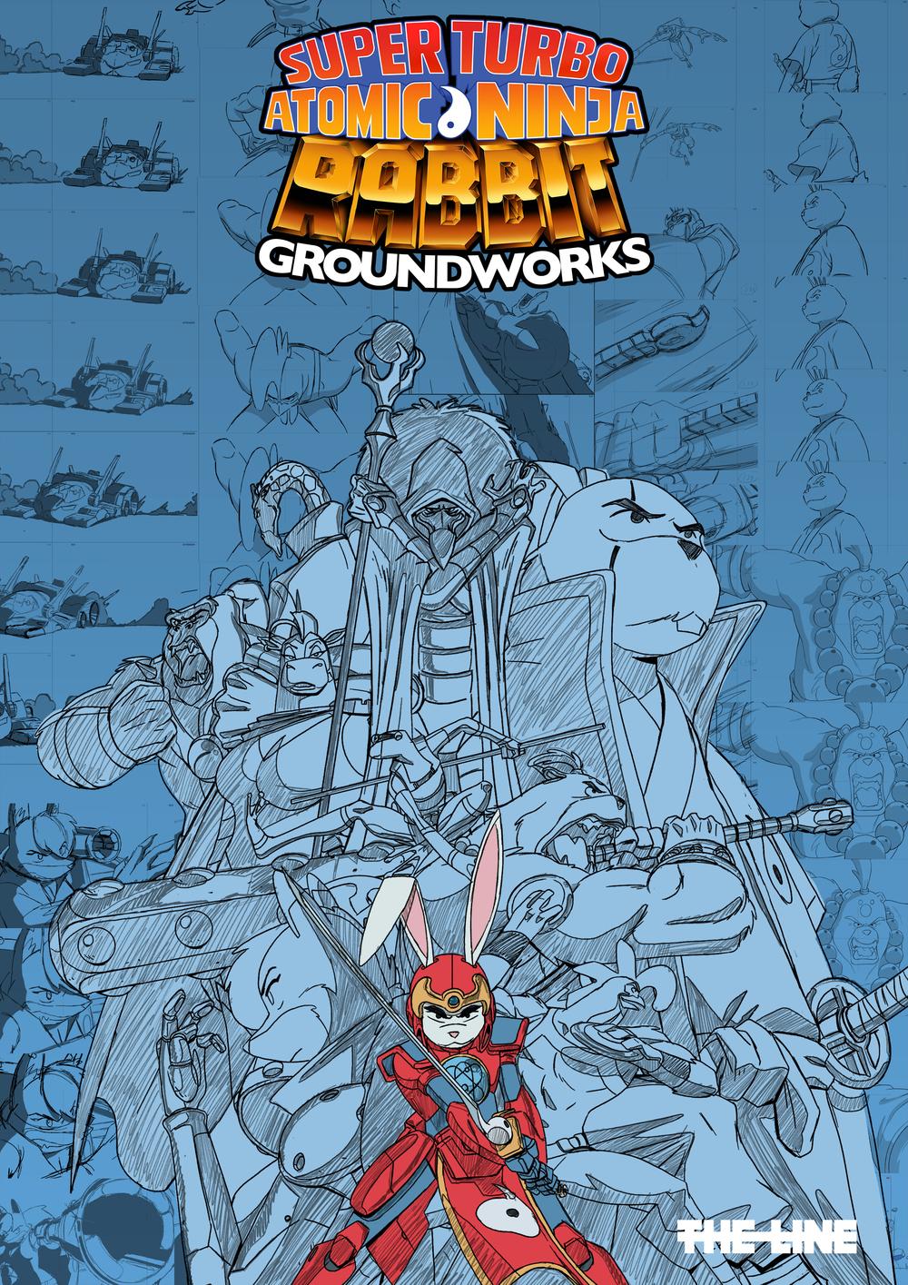 Super Turbo Atomic Ninja Rabbit Art Book