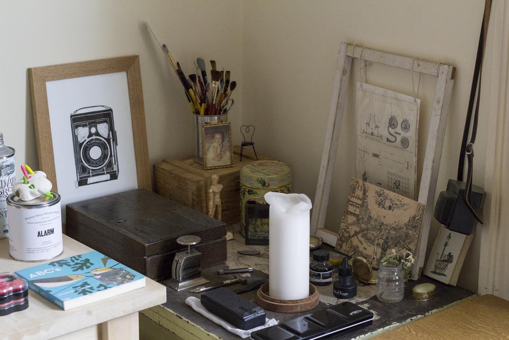 More materials & props