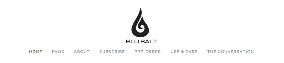 Blu Salt Website