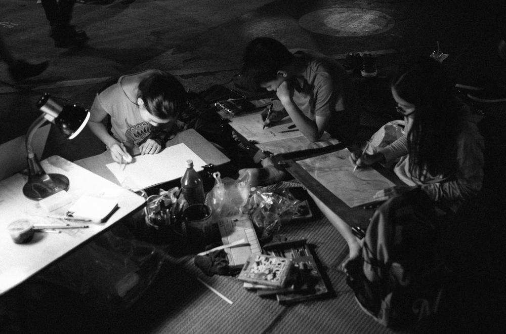 midnight art class
