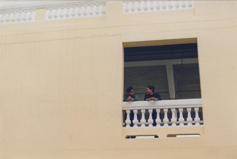 conversation balcony