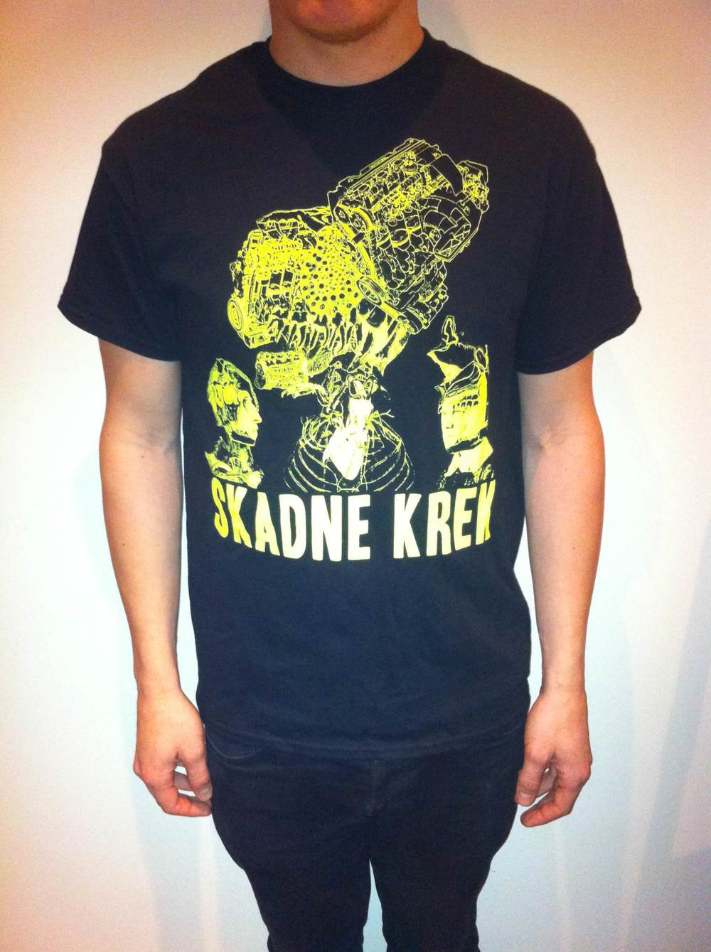 Skadne Krek tshirt  100 NOK/10€ + shipping  available colours: black, dark grey  sizes: S, M, L, XL