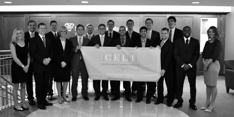 Northwestern Mutual College Interns are proud to attend the CELI seminar,   The Competitive Advantage: Business Etiquette